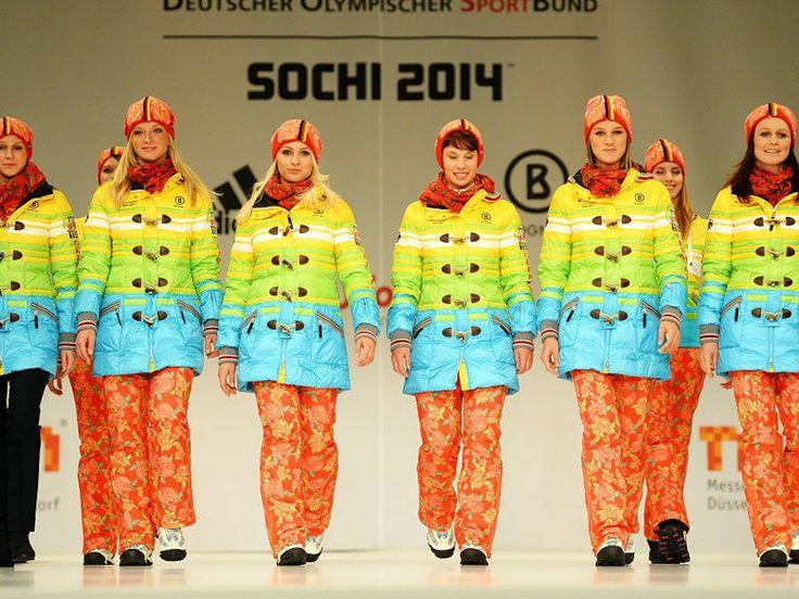 JO de Sotchi : quand la mode rencontre le sport