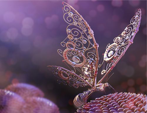 steampunk butterfly