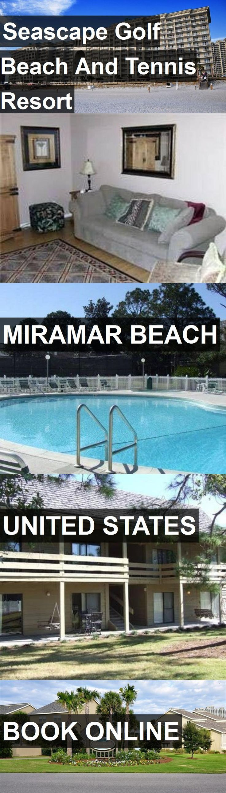 Hotel Seascape Golf Beach And Tennis Resort in Miramar Beach, United States. For more information, photos, reviews and best prices please follow the link. #UnitedStates #MiramarBeach #SeascapeGolfBeachAndTennisResort #hotel #travel #vacation
