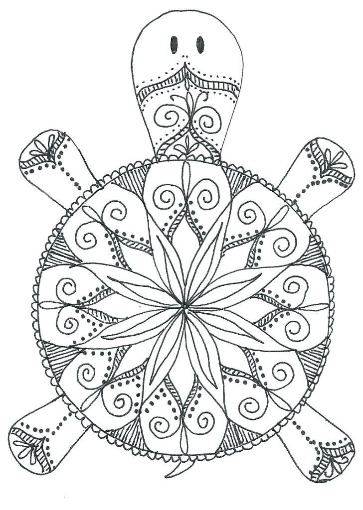 Animal Mandala Coloring Pages Coloriage Coloriage Halloween A