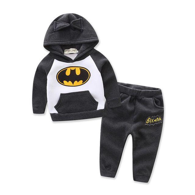 Retail New 2017 Girl Children Outfits Tracksuit Batman Clothing Children Hoodies + Kids Pants Sport Suit Boys Clothing Boy Set-in Clothing Sets from Mother & Kids on Aliexpress.com | Alibaba Group