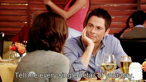 I want a Chris Traeger in my life.  Parks and Rec. Chris and Anne