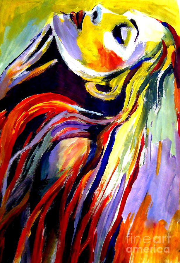 Inhale by Helena Wierzbicki in 2020 Art, Saatchi art