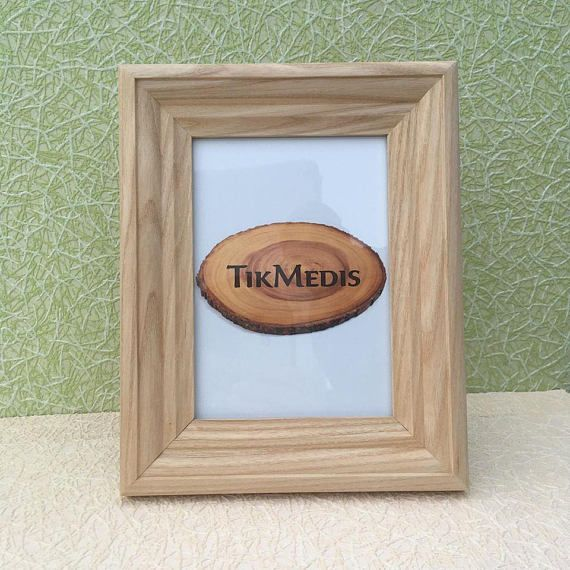 Ash Wood Frame For Pictures Size 5 7 Inches Etsy Wood Frame Ash Wood Picture Frames