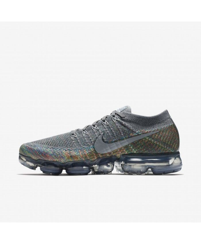 Nike Air Vapormax Flyknit Dark Greymulticolor Trainers  a4c0d6313d