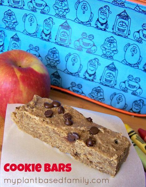 Cookie Bars (Vegan, Gluten-Free and Nut-Free)