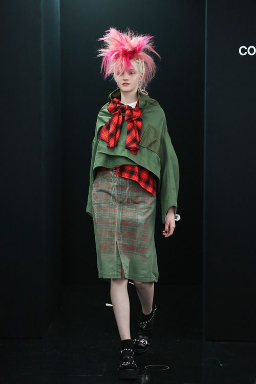[No.1/73] tricot COMME des GARÇONS 2013~14秋冬コレクション   Fashionsnap.com