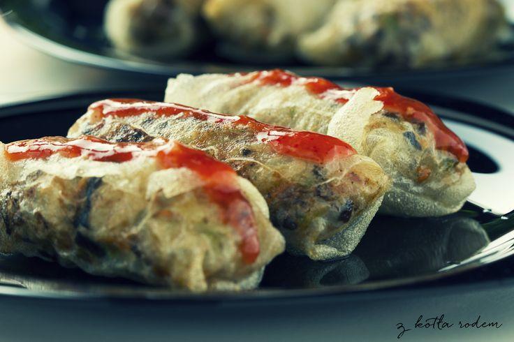 Sajgonki z mięsem wołowym - a może specjał kuchni wietnamskiej? :) #kuchniawietnamska #sajgonki