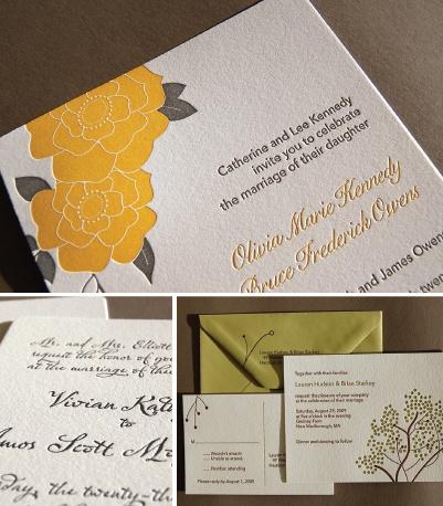 Diy letterpress wedding invitations diy wedding invitations pinte