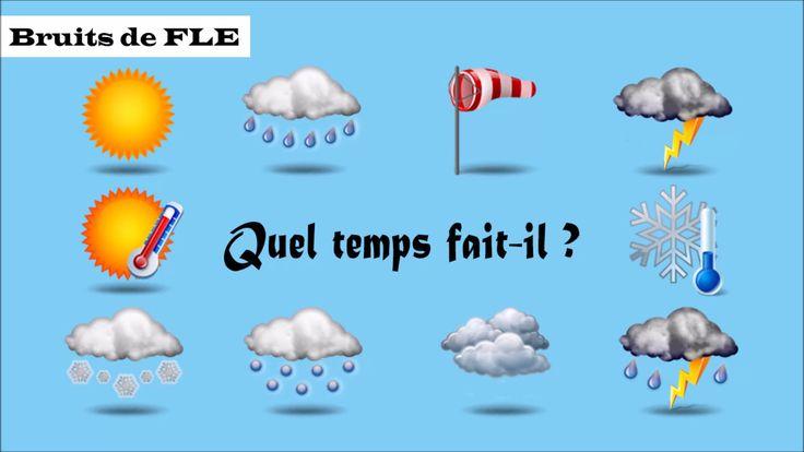 【Bruits de FLE】 Quel temps fait-il ? (la météo)