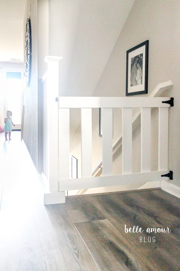 13 Diy Dog Gate Ideas: SIMPLE CUSTOM DIY BABY GATE