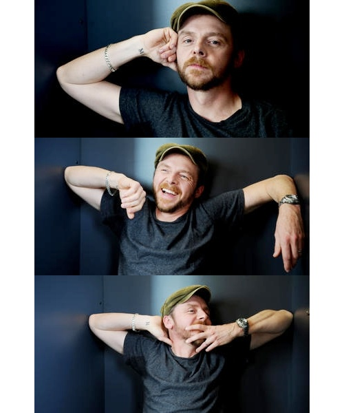So much love for this man. <3 Simon Pegg