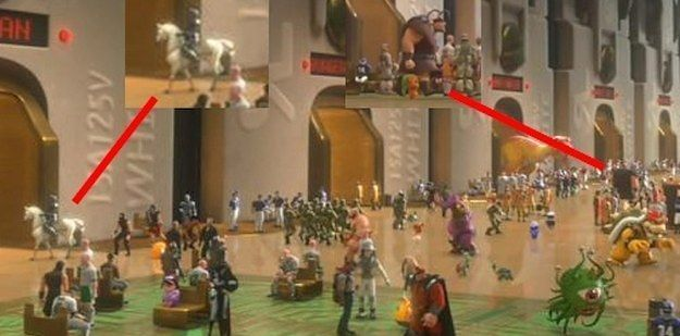 In Wreck-It Ralph, two characters from Tangled make cameos: Flynn's horse Maximus, and Vladimir, one of the thugs at the Snuggly Duckling. | 22 More Disney Movie Easter Eggs You May Have Never Noticed