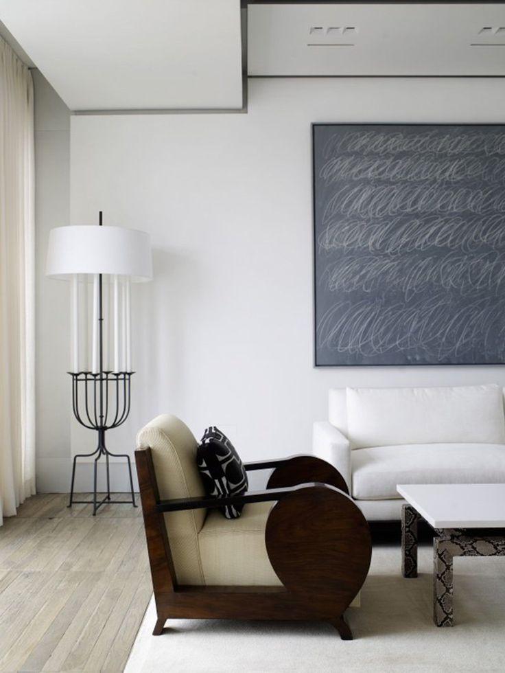 Minimalist Living Room in Los Angeles CA