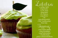 Alles und Anderes: Fruchtige Apfel-Cupcakes