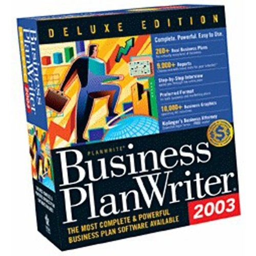 Business Plan Writer® Deluxe 2006 For Windows