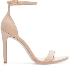Zara Leather High Heel Sandal