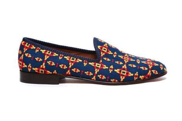 The Del Toro Tribal Shoe Collection Doesn't Sacrifice Style for Comfort #shoes trendhunter.com