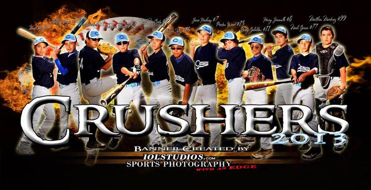 Sports Poster and Custom Baseball Banner 2012