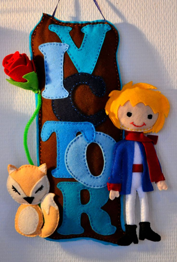 le petit prince / name banner / hand made/ home made/ newborn gift / little prince /