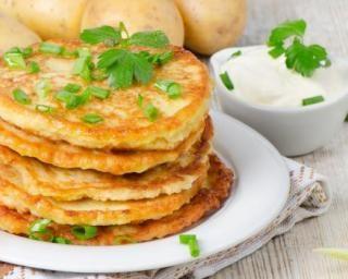 Mini pancakes de pommes de terre