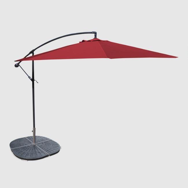 17 Best Ideas About Cantilever Umbrella On Pinterest