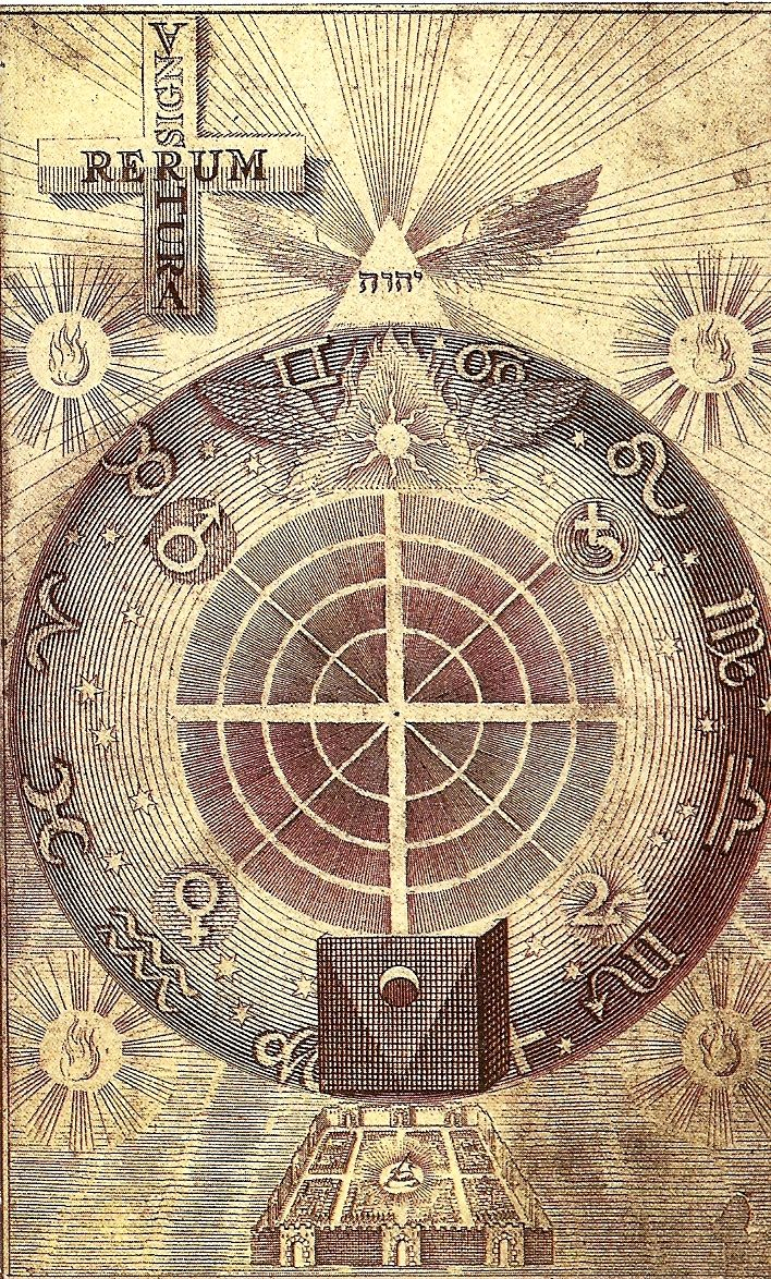 """the-unknown-friend: """" Wheel of properties of the seven planets or """"source spirits"""" J. Bohme, Theosphische Wercke /Amsterdam 1682 """""""
