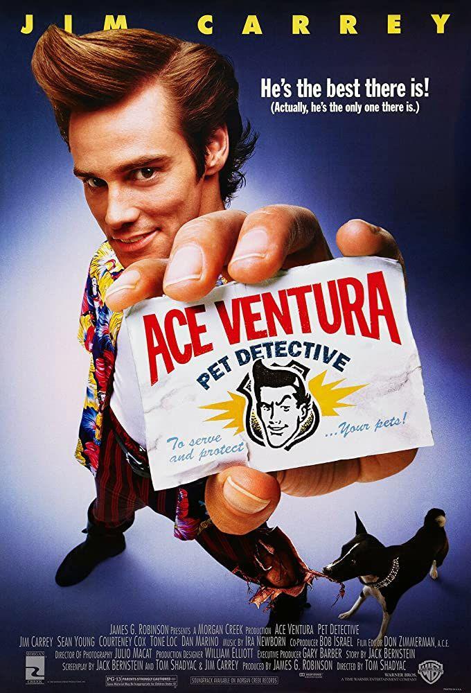 Ace Ventura Pet Detective Películas Completas Gratis Detective Jim Carrey