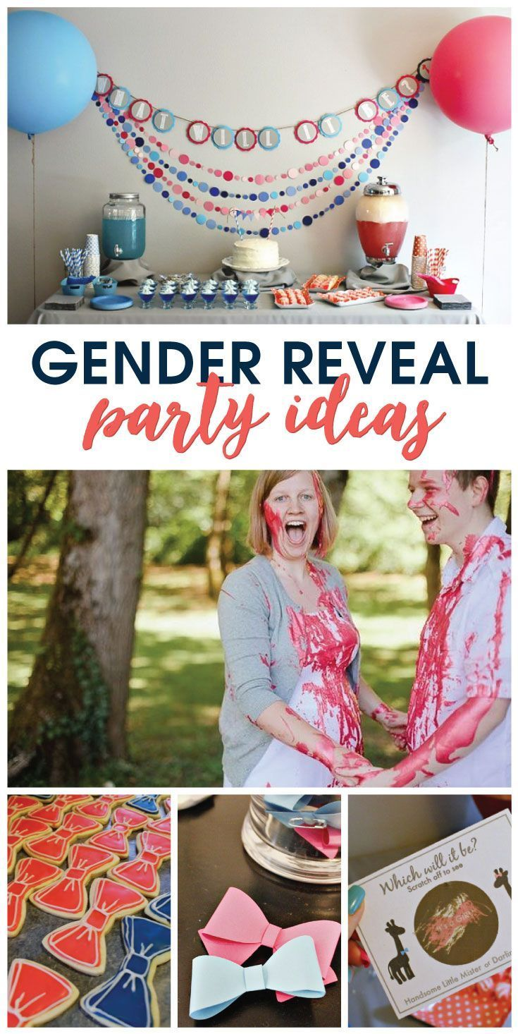 Are you expecting? Plan a fun Gender Reveal Party for family and friends, complete with a DIY scratch-it to reveal the gender using this simple tutorial! FREE printable included!