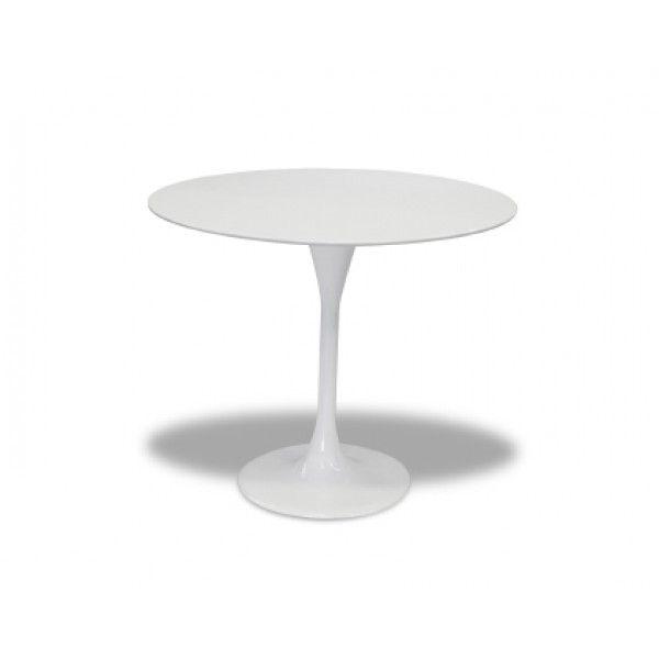 Tulip Dining Table Fibreglass 110cm Eero Saarinen Replica Glicks Furniture Waterloo