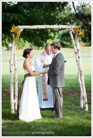 Wedding ceremony #stlouis #realwedding