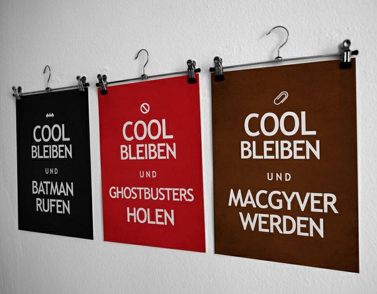 Druck // Print by heyhey via DaWanda.com