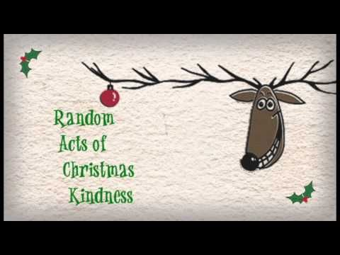 This holiday season, be on the lookout for random acts of...kindness. 25 Days of Kindness - part of the Advent Conspiracy at The Bridge.