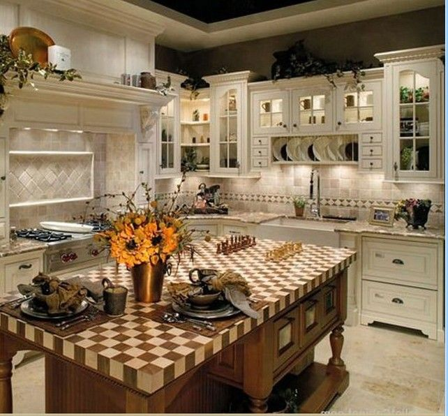 25 Best French Country Kitchens Images On Pinterest