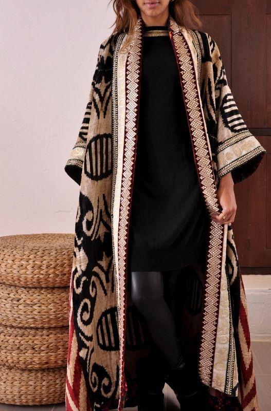 kimono Double Sided Abaya beautiful designs (2)