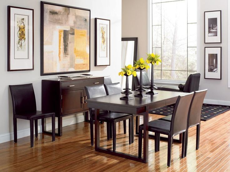Draycott Rectangle Dining Room Set (via Hightower Hightower Furniture)