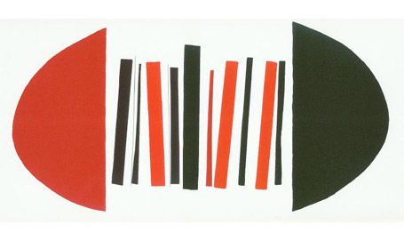 Terry Frost: Red, Black and White.