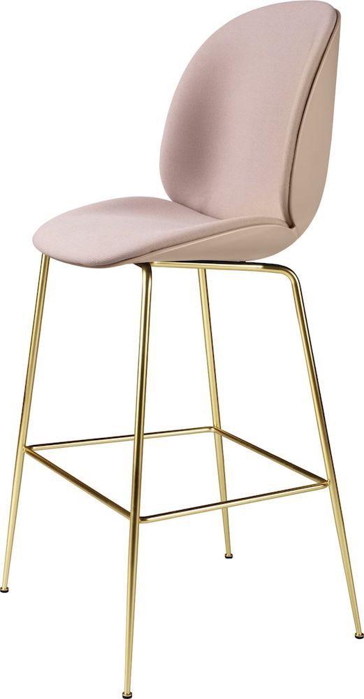 Bar Métal BeetleCoque Chaise De – Gubi PlastiquePieds Design D2WH9EIY