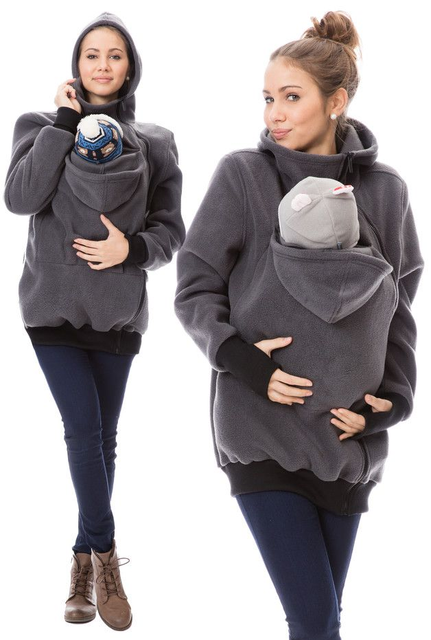 Tragetücher & Mei Tai - Tragejacke Klassiker VIVA 8 warme Babytragejacke - ein Designerstück von GoFuture bei DaWanda