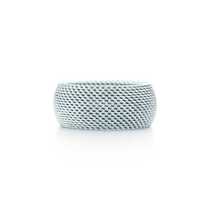 Tiffany Somerset™ domed ring in sterling silver. | Tiffany & Co.