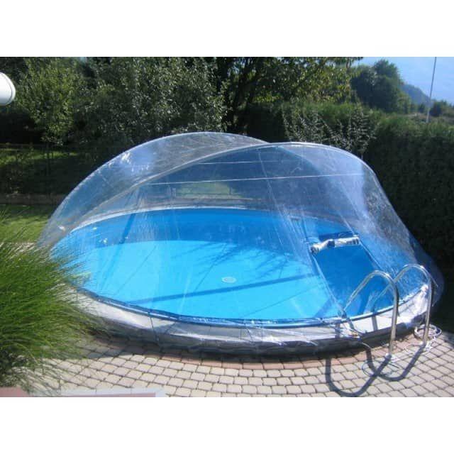 Cabrio Dome überdachung Pool Abdeckung Für Stahlmantel Rundbecken
