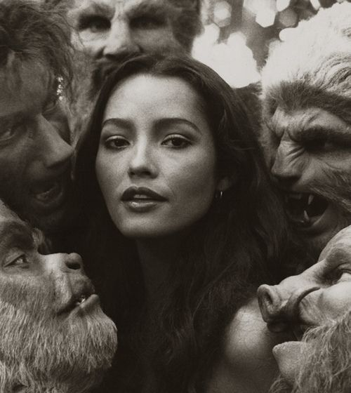Barbara Carrera in The Island of Dr. Moreau, 1977.