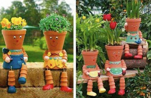 Dekoration on pinterest for Originelle gartengestaltung