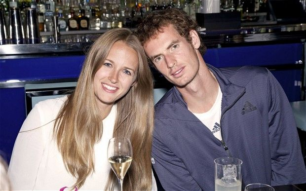 Andy Murray celebrates his US Open Tennis Championships victory with his girlfriend Kim Sears at Hakkasan restaurant in New York