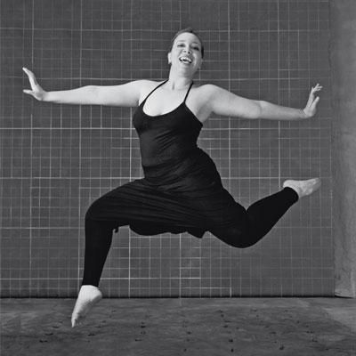 """""""People have their own ideas about what a dancer should look like, and many times when I perform, the audience is stunned that I can move the way I do. I'm truly fortunate to be part of a dance company that accepts me for me."""" — Francine Ott #FlauntIt"""