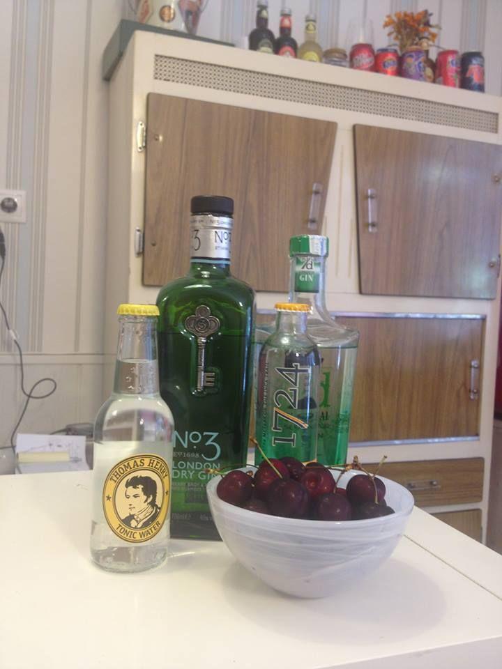 Bebidas de importación.