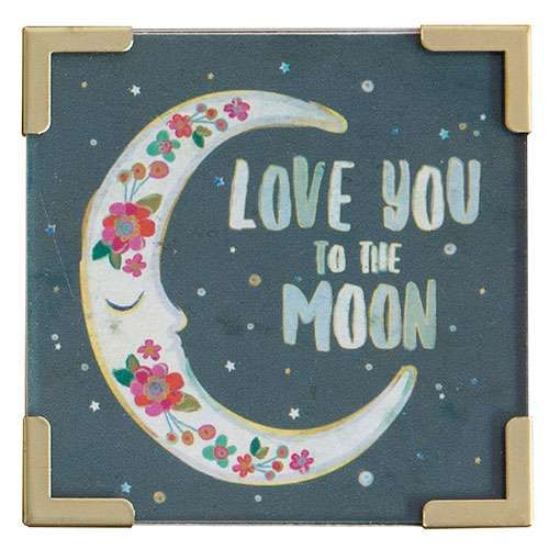 Natural Life Μαγνητάκι «Love You To The Moon»