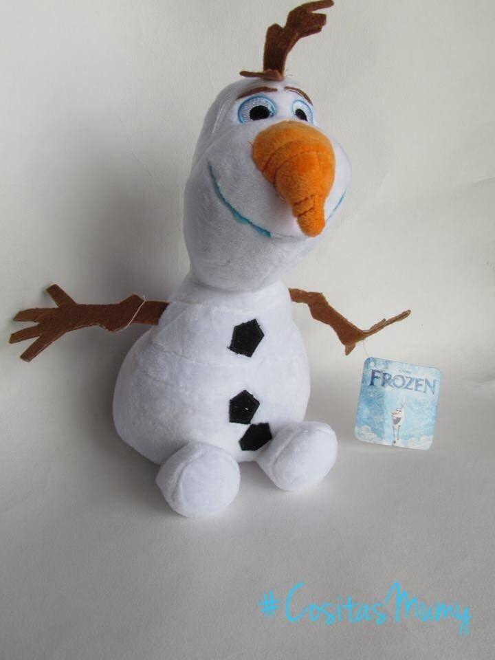 Muñeco Olaf - Peluche -Película de Disney Frozen