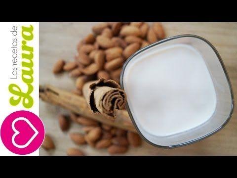Leche de Almendras♥Propiedades de las Almendras♥Leche de Almendras Casera♥Recetas Saludables - YouTube
