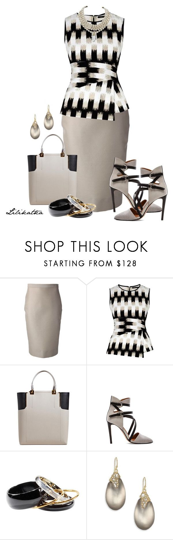 """""""Pivonka#1111"""" by lilikatka ❤ liked on Polyvore featuring Dsquared2, BCBGMAXAZRIA, Lanvin, Rebecca Minkoff, H&M, Alexis Bittar and Miriam Haskell"""